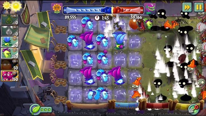 Plants vs Zombies 2 oyununa yeni bir mod