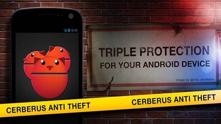 Kayıp veya çalınan telefonunuzu bulan program: Cerberus Anti Theft