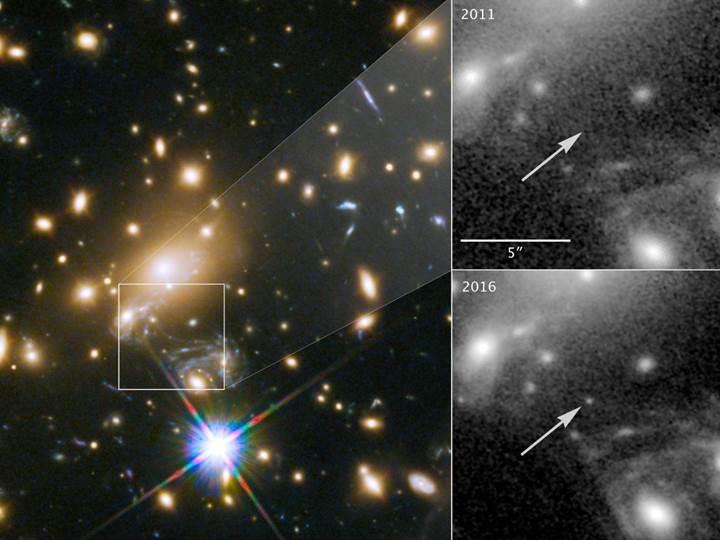 Hubble, bilinen evrenin en uzak yıldızını görüntüledi