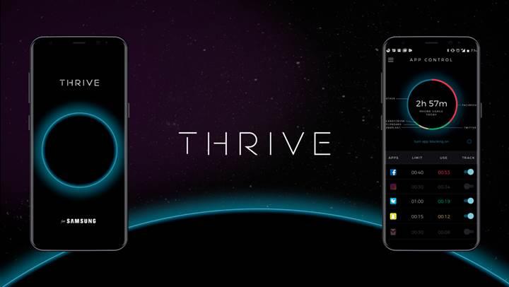 Telefon bağımlılığını kontrol altına alan uygulama: Thrive