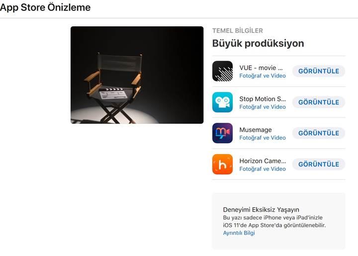 İstanbul Film Festivali için özel Apple içerikleri hazırlandı