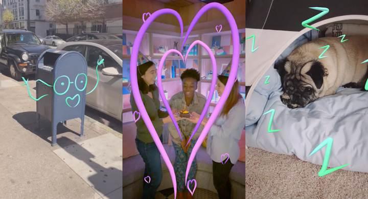 Facebook Hikayelere zengin gerçeklik etiketleri ve Boomerang GIF'leri geliyor