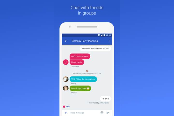 Google, evrensel sohbet uygulaması