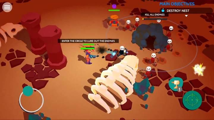 Real Boxing geliştiricisinden yeni bir shooter tarzı oyun