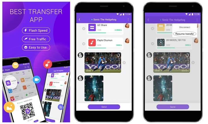UCWeb, Android için bir dosya aktarımı uygulaması yayınladı