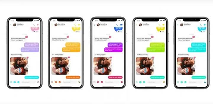 Facebook mesajlaşma uygulamasını yeniden tasarlıyor