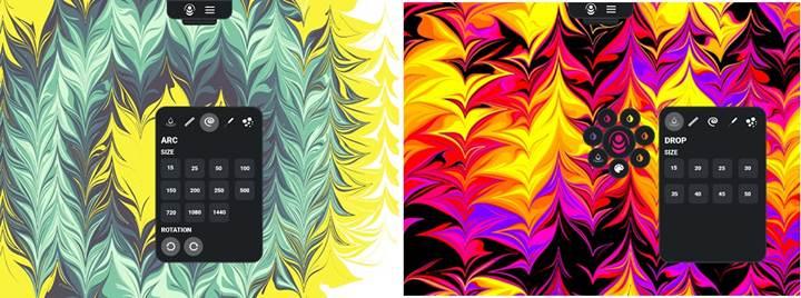 Ebru sanatını severler için kısa süreliğine ücretsiz uygulama: Edru Liquid Paint
