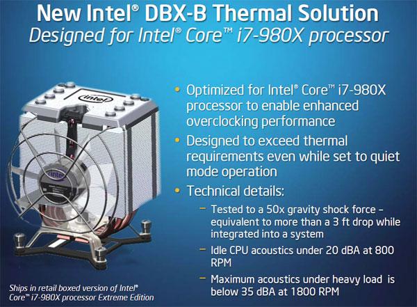 Intel'den masaüstü sistemler için 6 çekirdekli ilk işlemci: Core i7 980X