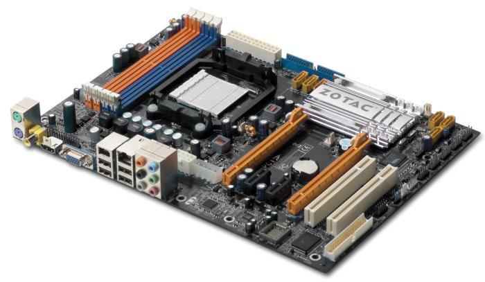ZOTAC'dan nForce 750a SLI yonga setli yeni anakart