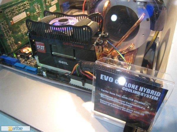 Computex 2008: GeIL yeni bellek soğutucusu ile dikkat çekiyor