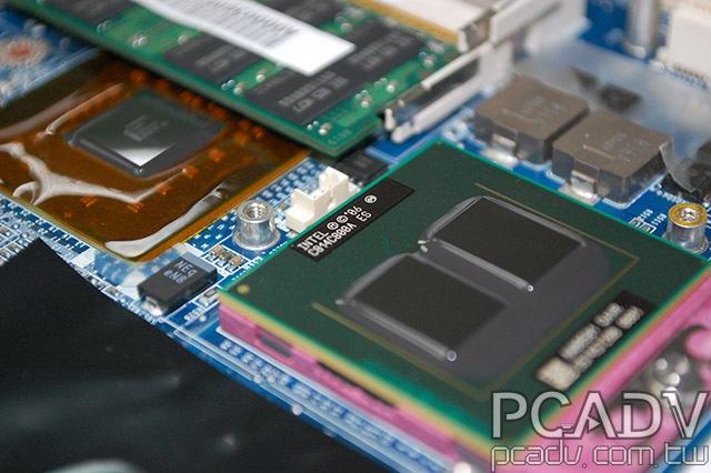 Intel'in dört çekirdekli ilk mobil işlemcisi görüntülendi