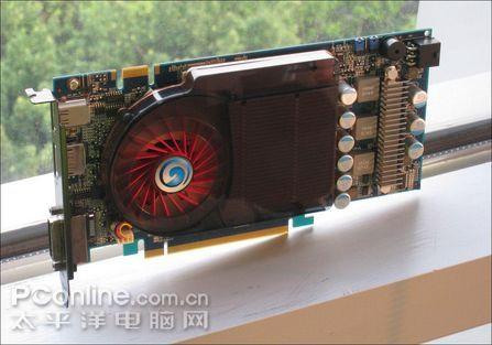 Galaxy'den 2GB bellekli ve hız aşırtmalı GeForce 9600GT Black
