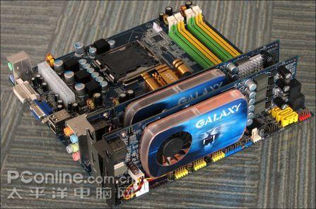 Galaxy'den GeForce 9600GT Blade ve HTPC'de SLI