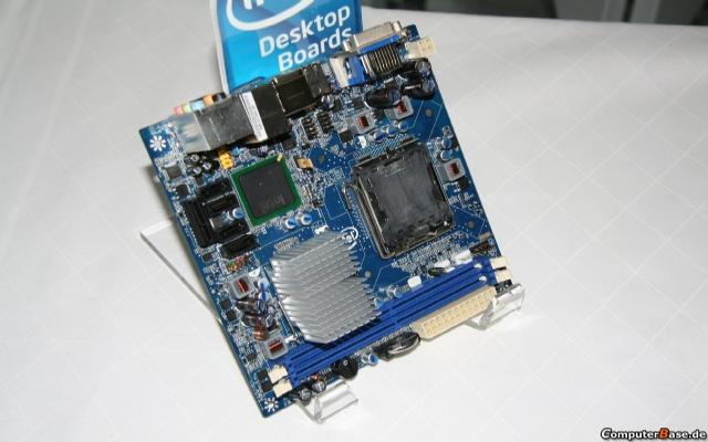 Intel Mini-ITX konusunda vites yükseltiyor
