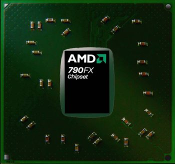 AMD'nin yenilenen 790FX yonga seti yüksek hız aşırtma potansiyeliyle geliyor