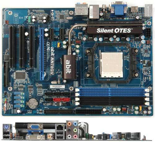 Abit'den nForce 720a yonga setli yeni anakart