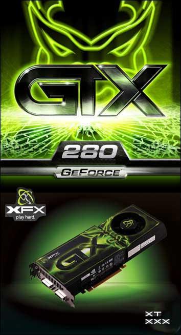 XFX'den GeForce GTX 280 XT ve XXX modelleri geliyor