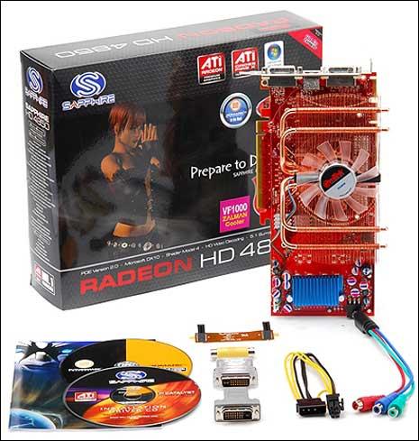 EmTek'den Zalman VF1000 soğutmalı Radeon HD 4850