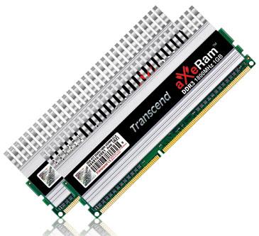 Transcend'in 1600MHz'de çalışan aXeRam DDR3 kiti XMP sertifikası aldı