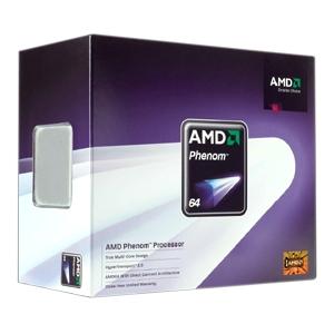 95 watt'lık AMD Phenom 9750 kullanıma sunuldu