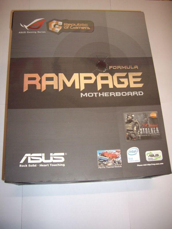 Asus'dan X48 yonga setli Rampage Formula