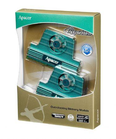 Apacer'den Aeolus serisi aktif fanlı yeni DDR3 bellekler