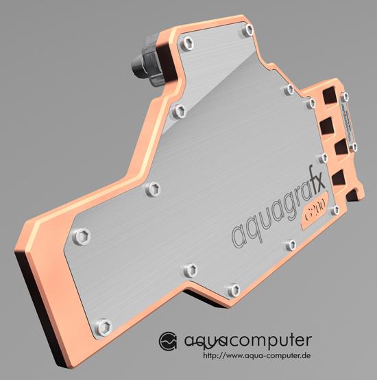 Aqua Computer'dan GeForce GTX 280 için su soğutma bloğu