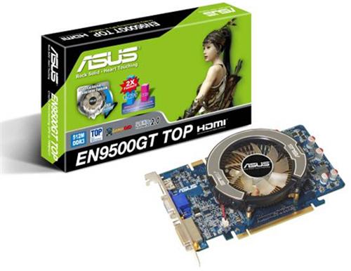 Asus GeForce 9500GT TOP Edition modelini lanse etti