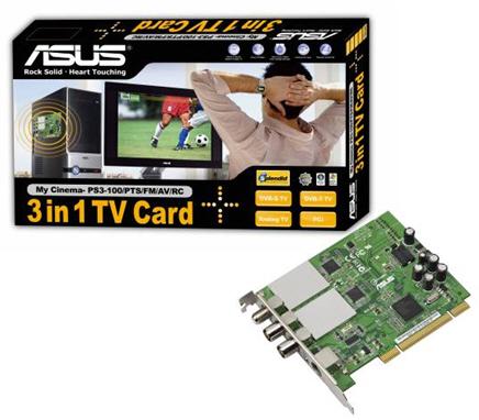 Asus My Cinema serisi dahilinde hazırladığı yeni tv kartını duyurdu