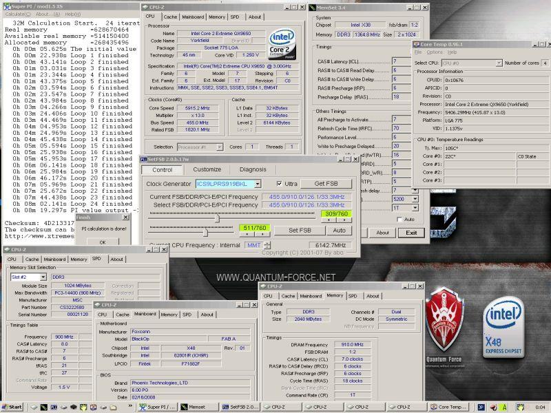 Foxconn Blackops X48 hız aşırtmacıların yeni gözdesi olabilir