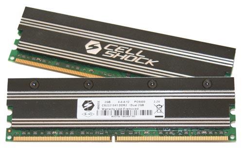 Cellshock'un DDR2 ve DDR3 bellekleri Türkiye'de kullanıma sunuldu