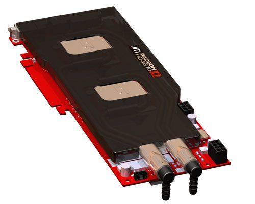 CoolIT çift grafik işlemcili Radeon HD 4870 X2 için su soğutma sistemi hazırladı
