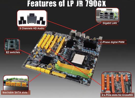 DFI, LanParty serisine 790GX yonga setli yeni bir üye ekliyor