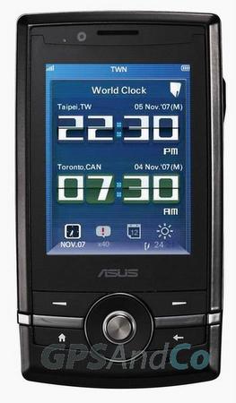 Asus P560, Windows Mobile 6.1 işletim sistemiyle geliyor