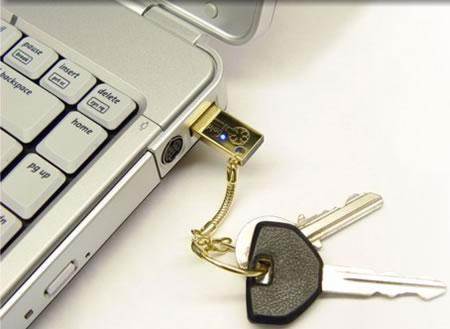 Goldkey USB sürücüsü; önemli verilerini güvenle taşımak isteyenlere