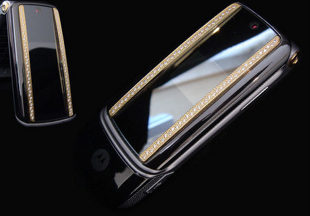 Motorola KRZR: Diamond Edition