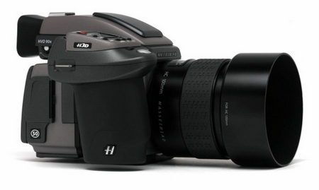 Hasselblad, 50 Megapiksel sensörlü H3DII-50'yi duyurdu