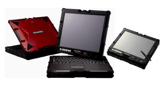 Nec ShieldPRO FC-N22A; zorlu koşullara dayanıklı tablet pc