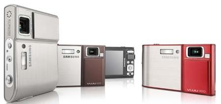 Samsung'dan multimedya meraklılarına yönelik kameralar: i80 ve i100