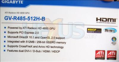 Computex 2008: Gigabyte'dan Radeon HD 3950 ve HD 4850 geliyor