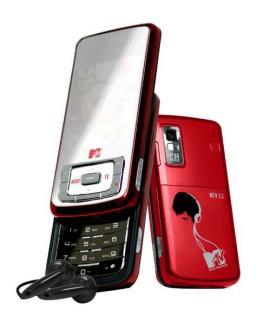 Müzik kanalı MTV'nin de cep telefonu üretildi