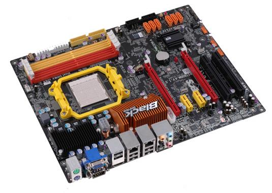 ECS 790GX yonga setli Black serisi yeni anakartını duyurdu