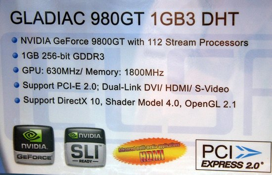 GeForce 9800GT, 29 Temmuz'da geliyor