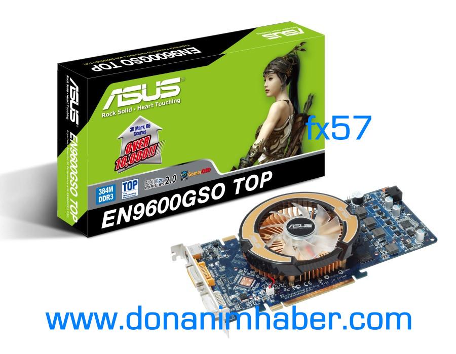 Asus'dan fabrika çıkışı overclocklu GeForce 9600GSO