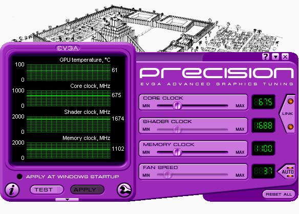 EVGA Precision 1.3.0 kullanıma sunuldu