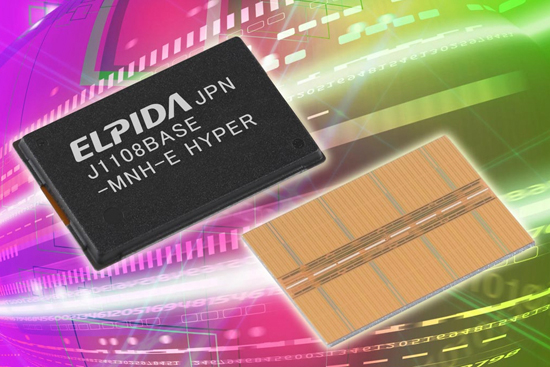 Elpida 2500MHz'de çalışan 1GB DDR3 DRAM yongası hazırladı
