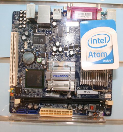 Computex 2008: Foxconn'dan iki yeni Mini--ITX anakart