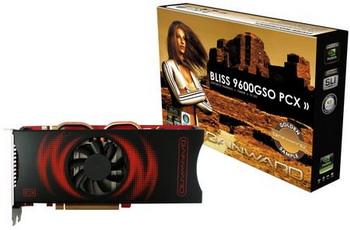 Gainward GeForce 9600GSO Bliss modelini duyurdu