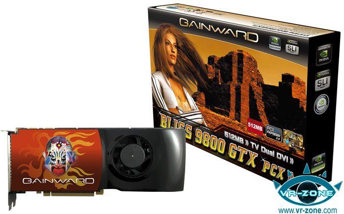 BFG ve Gainward firmaları da GeForce 9800GTX modellerini duyurdular