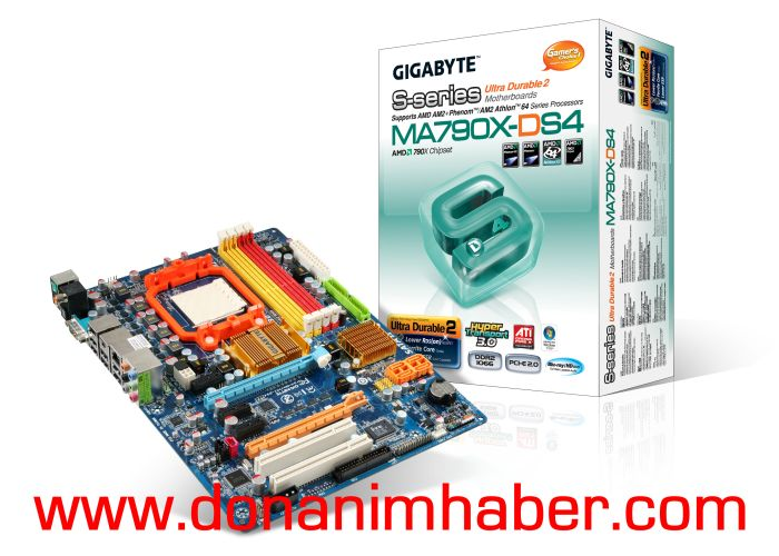 Gigabyte'den 790X yonga setli 790X-DS4